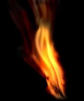 حتی یک شعله  کوچک می تواندیک تنه همه تاریکی شب راانکارکند