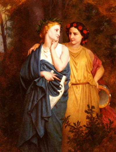 Filomela y Procne , de Elizabeth Gardener Bouguereau